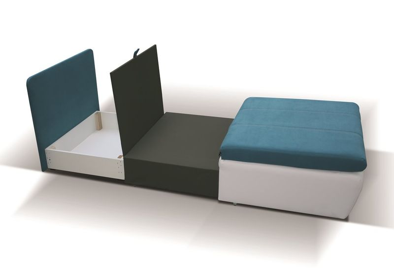 Fotel rozkładany RITO Tapicerowany Super kolory zdjęcie 6