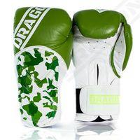 Dragon Sports rękawice bokserskie HAMMER zielone Waga - 10 oz