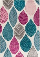 Dywan KOMFORT MODERN Colour Swirl 80x150 Liście