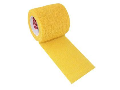 Bandaż kohezyjny samoprzylepny 2,5cm x 4,5m żółty
