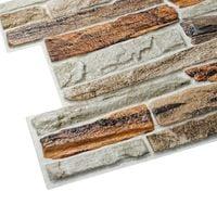 Panele Ścienne 3D PCV Kamień Naturalny GIBLARTAR