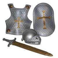 zestaw RYCERZA strój rycerz TARCZA i miecz ZBROJA