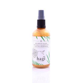 Hagi naturalny olejek do ciała z olejem chia i złotymi drobinkami 100ml