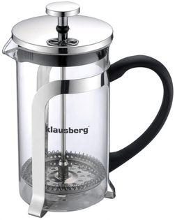 Klausberg zaparzacz do kawy/herbaty z dociskiem 600ml kb-7152