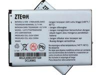 Bateria ZTE Li3717T42P3h654458 MF63 U790 1700mAh