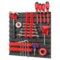 Tablica ścianka narzędziowa do garażu + 20 uchwytów PRO-MIX40