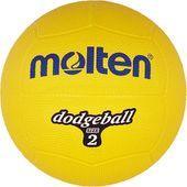 Piłka gumowa Molten DB2-Y dodgeball size 2