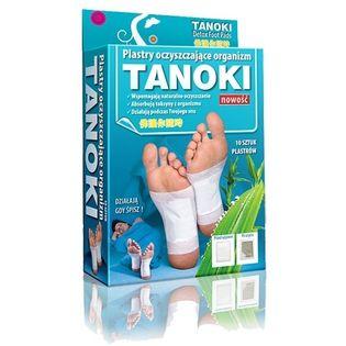 Plastry oczyszczające TANOKI Detox Foot Pads 10szt/opak na Arena.pl