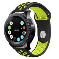 TECH-PROTECT SOFTBAND SAMSUNG GALAXY WATCH 46MM BLACK/LIME