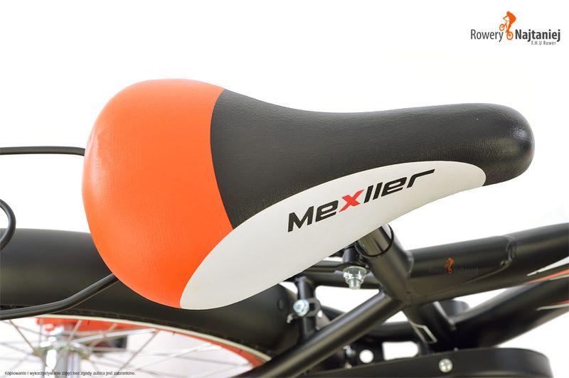 ROWER ROWEREK DZIECIĘCY BMX MEXLLER 20 NIEBIESKO-CZEROWNY MAT! na Arena.pl
