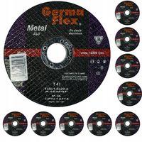 TARCZA CIĘCIA METALU ALU 125x1,6 GERMA FLEX 10szt