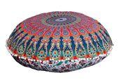 Poduszka siedzisko duża okrągła 80CM mandala joga