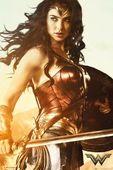 Wonder Woman Miecz - plakat 61x91,5 cm