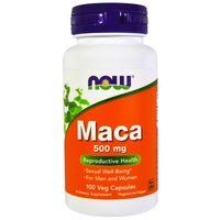 Now Foods Korzeń MACA Pieprzyca 500 mg 100 kaps