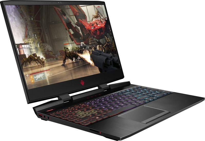 HP OMEN 15 FullHD IPS 144Hz Intel Core i7-8750H 6-rdzeni 16GB DDR4 256GB SSD NVMe 1TB HDD NVIDIA GeForce GTX 1060 6GB Windows 10 na Arena.pl