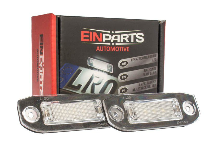 Podświetlenie Tablicy Rejestracyjnej Led Einparts Volvo S40 V50 2004 2012