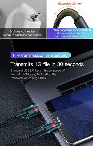 BASEUS SZYBKI MOCNY KABEL USB-C 3.1 MACBOOK 100CM na Arena.pl
