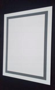 Lustro led 80x100 Wzór W2