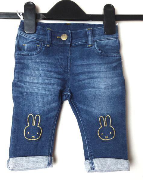Spodnie jeansowe przecierane Miffy C&A 68 na Arena.pl