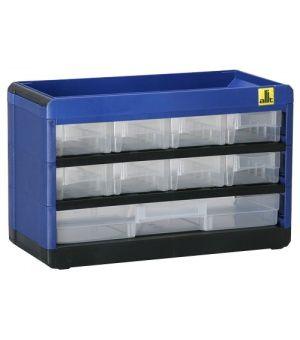 Regalik szufladkowy 9 szuflad - 300 x 135 x 190 mm na Arena.pl