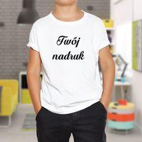Dziecięcy T-shirt z Twoim nadrukiem 140