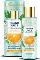 Bielenda Fresh Juice Hydro-Esencja Nawilżająca Z Wodą Cytrusową Pomarańcza 110Ml