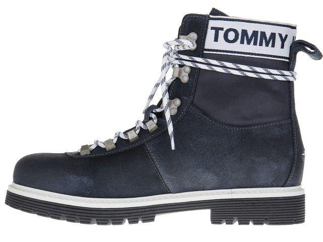 Tommy Hilfiger Canvas Suede Boot Ink EM0EM00184-006 - 44 na Arena.pl
