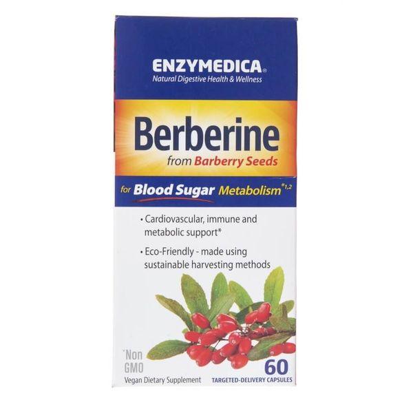 Enzymedica Berberyna 500 mg - 60 kapsułek zdjęcie 2