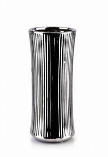 Wazon Ceramiczny 10X10X24.5Cm Yvonne Silver Mondex Htts6536