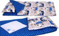 ŚPIWOREK bawełniany BOBO do przedszkola dwustronny  PIRACI
