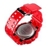 Męski Elektroniczny Zegarek S-SHOCK Trzy Kolory Biały Czerwony Czarny zdjęcie 4