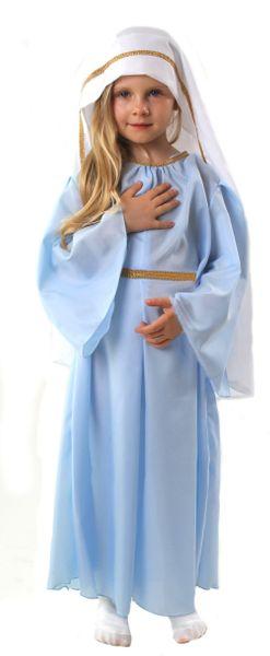 Strój Św. Maryja 98/104 Bal Świętych Jasełka zdjęcie 1