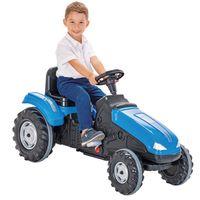 WOOPIE Traktor MEGA Na Pedały Niebieski