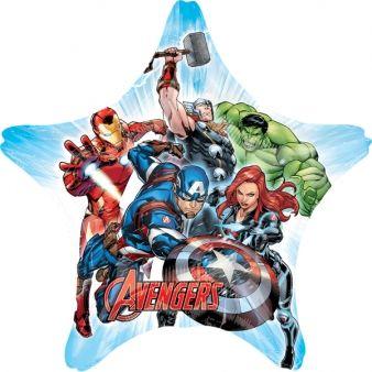 Bukiet balonów foliowych Avengers 5 szt zdjęcie 4