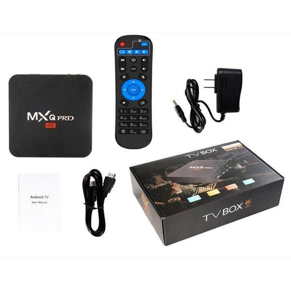 TV Box MXQ PRO 4K WiFi SMART KODI 1/8 GB Android 7.1 PL zdjęcie 5