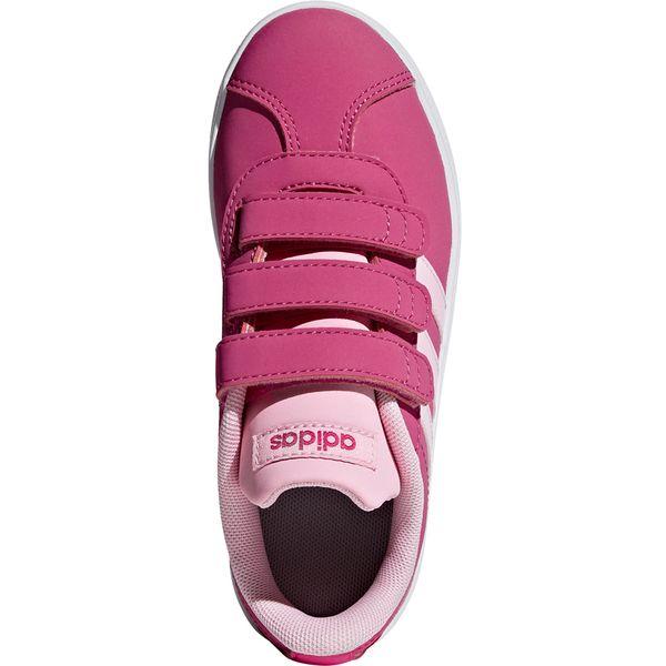 Buty dla dzieci adidas VL Court 2.0 CMF C różowe F36394 33