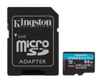 Karta pamięci microSD Kingston 64GB Canvas SDCG3