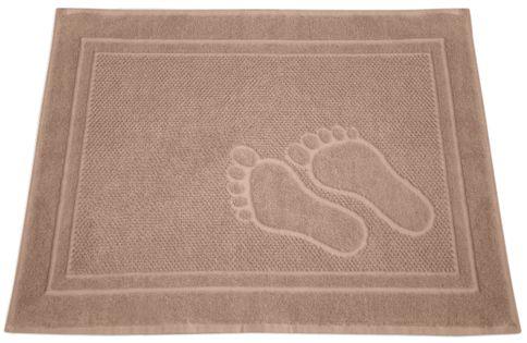 Dywanik łazienkowy Feet 50x70 Beżowy Stópki Greno
