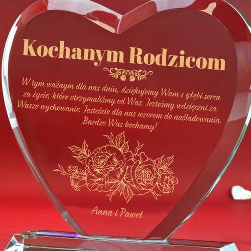 PREZENT na 50 rocznicę Ślubu STATUETKA z GRAWEREM na Arena.pl