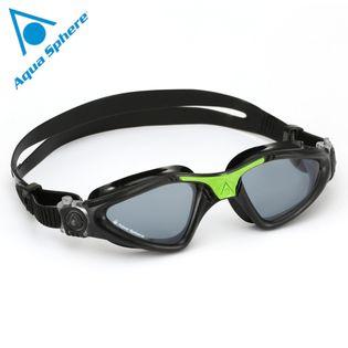 Okulary pływackie KAYENNE Kolor - Aqua Sphere - Kayenne - EP122117 - czarny / zielony / ciemne szkła