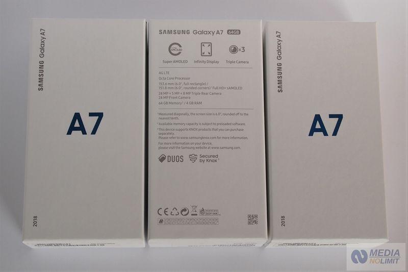 Samsung A7 (2018) Duos Gold Fabrycznie Nowe FV VAT 23% Gw 24 Mies. zdjęcie 5