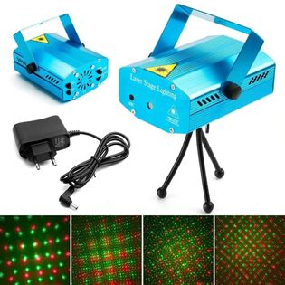 Projektor laserowy 3D mini laser stage lighting