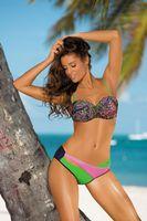 Kostium Kąpielowy Margaret Blu Scuro-Crickiet-Hollywood M-377 (8) Rozmiar S