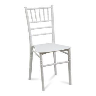 Krzesło kuchenne polipropylenowe do kuchni jadalni retro antyczne 807 białe