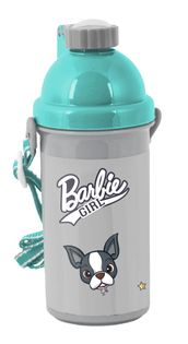 Bidon szkolny Barbie z psem, Paso