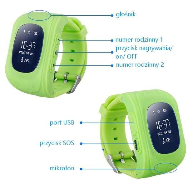 SmartWatch dla dzieci zegarek G36 z lokalizatorem GSM SIM T189 zdjęcie 7