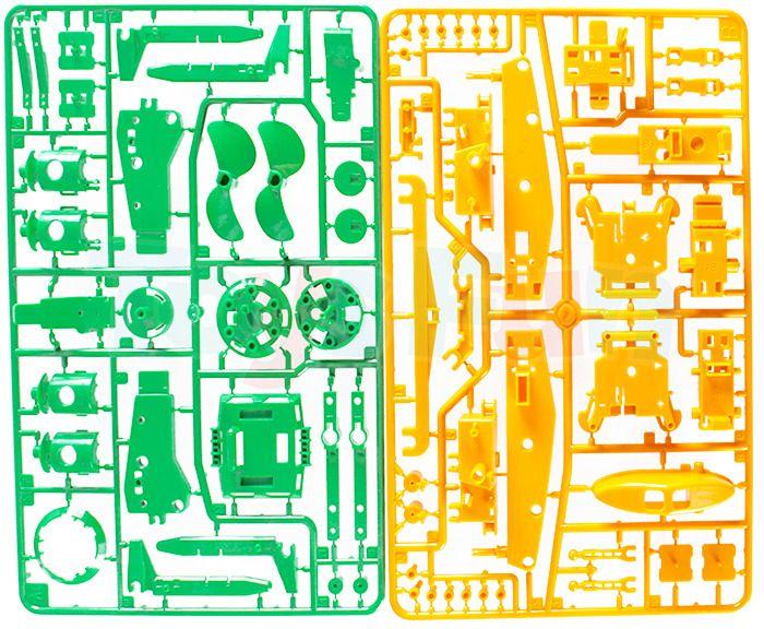 Zabawka edukacyjna: Robot solarny 6w1 zdjęcie 5