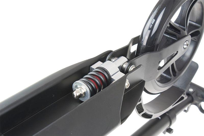 Hulajnoga aluminiowa Vivo Skipper 200mm czarny mat zdjęcie 1