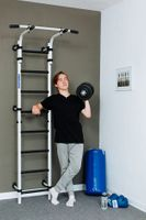 Drabinka gimnastyczna Teenager TUV Nord do 230 kg test MALPISZON.PL