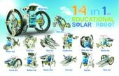 ZESTAW SOLARNY ROBOT 14 W 1 ZESTAW KONSTRUKCYJNY zdjęcie 2